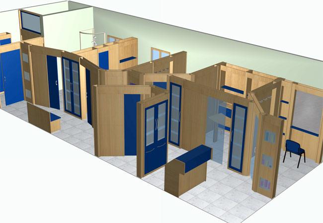 Famac arredamenti centri estetici for Arredamento estetica